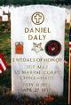 Sgt Maj Daniel Joseph Daly
