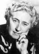 Profile photo:  Agatha Christie