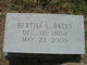 Profile photo:  Bertha <I>Lovingood</I> Bates