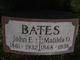 Profile photo:  John Ervin Bates