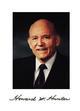 Profile photo:  Howard William Hunter, Sr