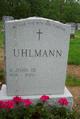 Profile photo:  A. John Uhlmann, III