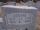 Louise <I>Hicks</I> Easterwood