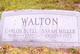 Sarah <I>Miller</I> Walton