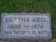 Profile photo:  Bertha <I>Schwartzman</I> Abel