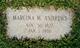 Marcina M. <I>Merrifield</I> Andrews