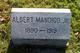 Profile photo:  Albert Mandigo, Jr