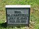 Margaret Jane <I>Crowley</I> Hartzel