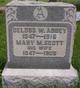 Profile photo:  Mary M. <I>Scott</I> Abbey