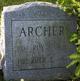 Profile photo:  Roy F. Archer