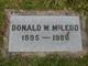 Donald William McLeod