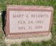 Mary G. <I>Graff</I> Beckwith
