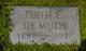 Edith Emelia <I>Gordon</I> DeMuth