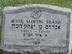 Alvin Martin Frank