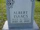 Profile photo:  Albert Isaacs