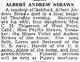 Andrew Albert Straws