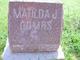 Matilda Jane <I>Burrus</I> Combs