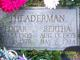 Bertha Ellen <I>Moyer</I> Theaderman
