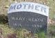 Profile photo:  Mary Heath