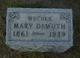 Mary Adelia <I>DeMuth</I> Bidwell