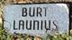 Profile photo:  Burt Launius