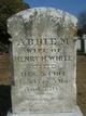 Profile photo:  Abbie M. <I>Hubbard</I> White
