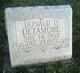 Donald D. Detamore