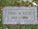 Emma Mathilda <I>Kunze</I> Witte