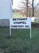 Bethany Chapel Cemetery