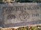 Mary Ellen <I>Beavers</I> Maddox