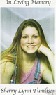 Profile photo:  Sherry Lynn Tumlison