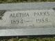 Aletha Fern <I>Rosenstiel</I> Parks