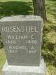 "Christian Wilhelm ""W. C."" Rosenstiel"