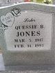 Quessie B. Jones