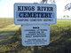 Kings River Cemetery