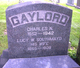 Lucy Wilson <I>Southmayd</I> Gaylord