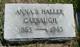 Profile photo:  Anna Belle <I>Haller</I> Carbaugh