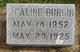 Profile photo:  Adaline <I>Rhines</I> Burgin