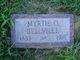 Myrtle Olivia <I>Smith</I> Bellville
