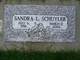 "Sandra Lee ""Sandy"" <I>Dods</I> Schuyler"