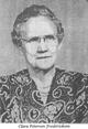 Profile photo:  Clara W. <I>Petersen</I> Fredericksen