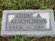 Profile photo:  Addie A <I>York</I> Aeschliman