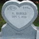 Profile photo:  A. Harold Barber