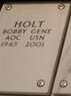 Profile photo:  Bobby Gene Holt