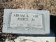 """Profile photo:  Abram K.  """"Abe"""" Pierce, Jr"""