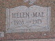 Helen Mae Bowles