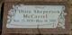 """Olive Florence """"Ollie"""" <I>Sheperson</I> McCarrel"""