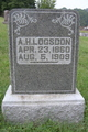 Profile photo:  A. Horace Logsdon
