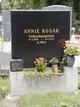Profile photo:  Annie Rosar