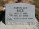 Profile photo:  Aaron Lee Rice